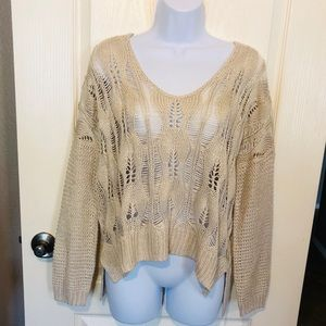 Heartloom Kitted Sweater NWT
